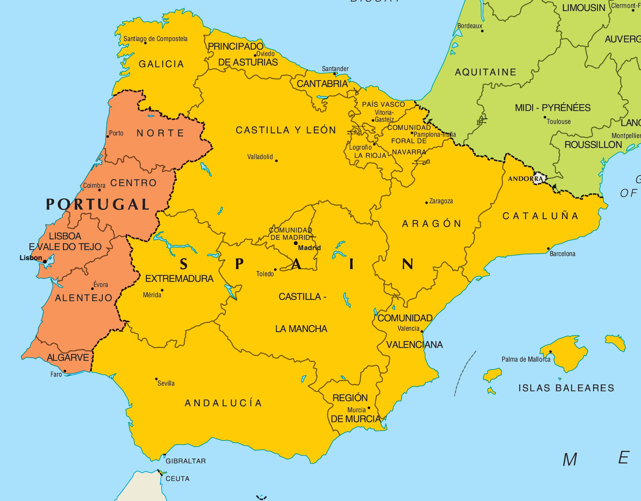 Организованный тур из Израиля Натур Португалия